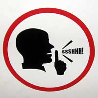 Shhhhhh Sign - ClipArt Best