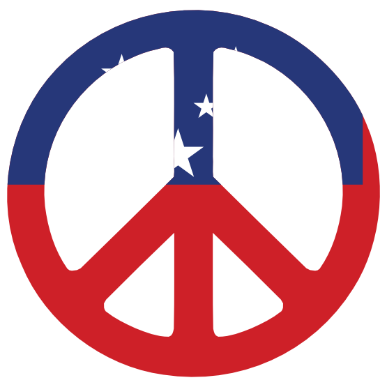 ... Peace Flags Peace Symbol Sign CND Logo ... - ClipArt Best - ClipArt