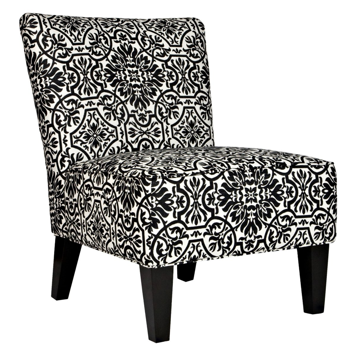 Angelo Home Davis Chair Black Amp White Damask Accent