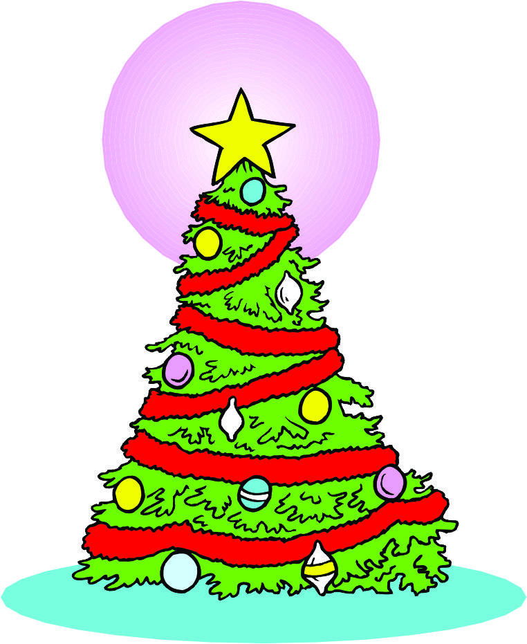 Tree Cartoon Images Cartoon Christmas Tree