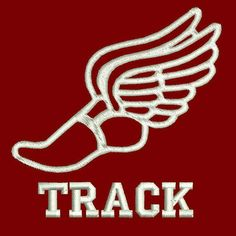Track and field shoe with wings clipart best for Track and field tattoos