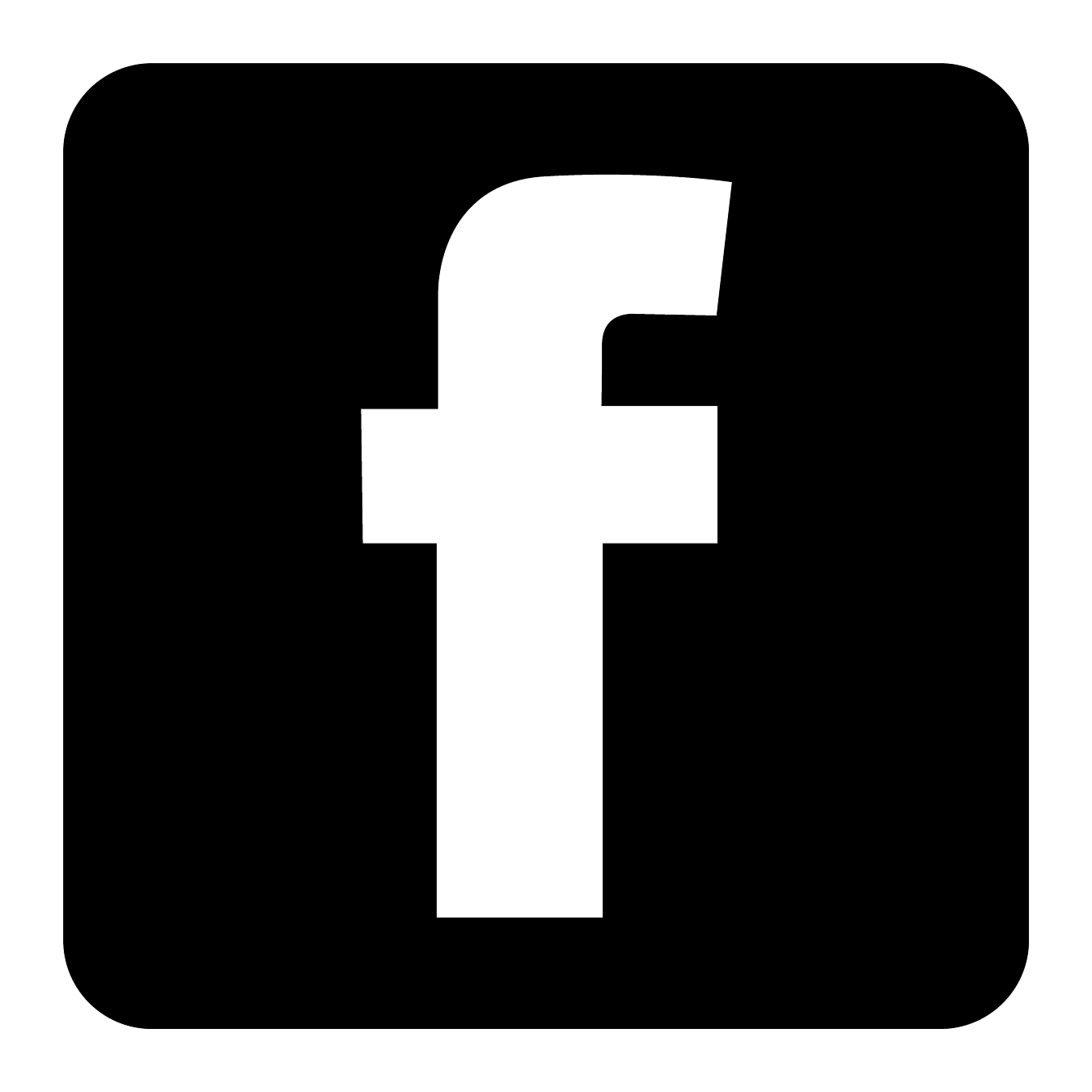 black facebook logo vector clipart best