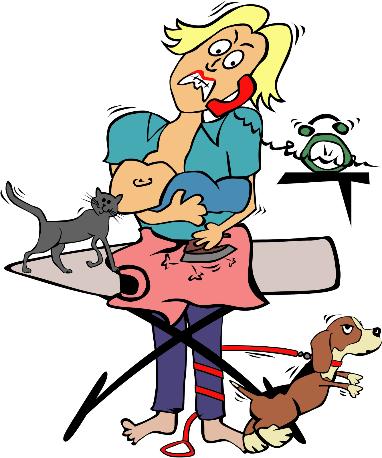 Free Clip Art Of Going Crazy - ClipArt Best