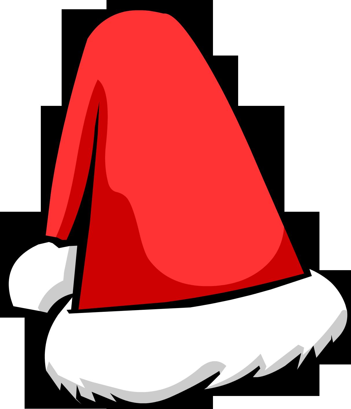 christmas santa hat clipart - photo #49