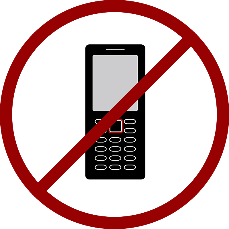 no cell phone clipart free - photo #6