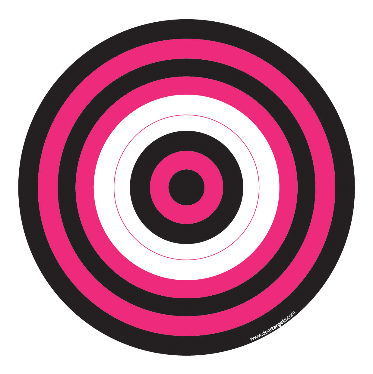 It is a graphic of Astounding Printable Archery Targets