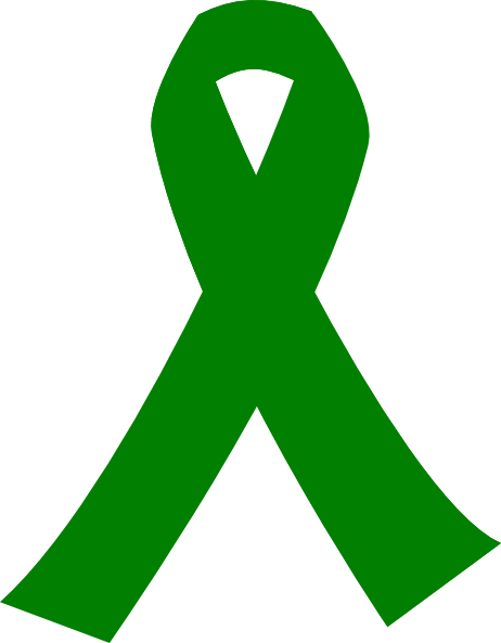 Green Cancer Ribbon Clipart Best Clipart Best Clipart Best