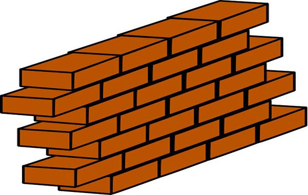 Brick Wall Clip Art - ClipArt Best