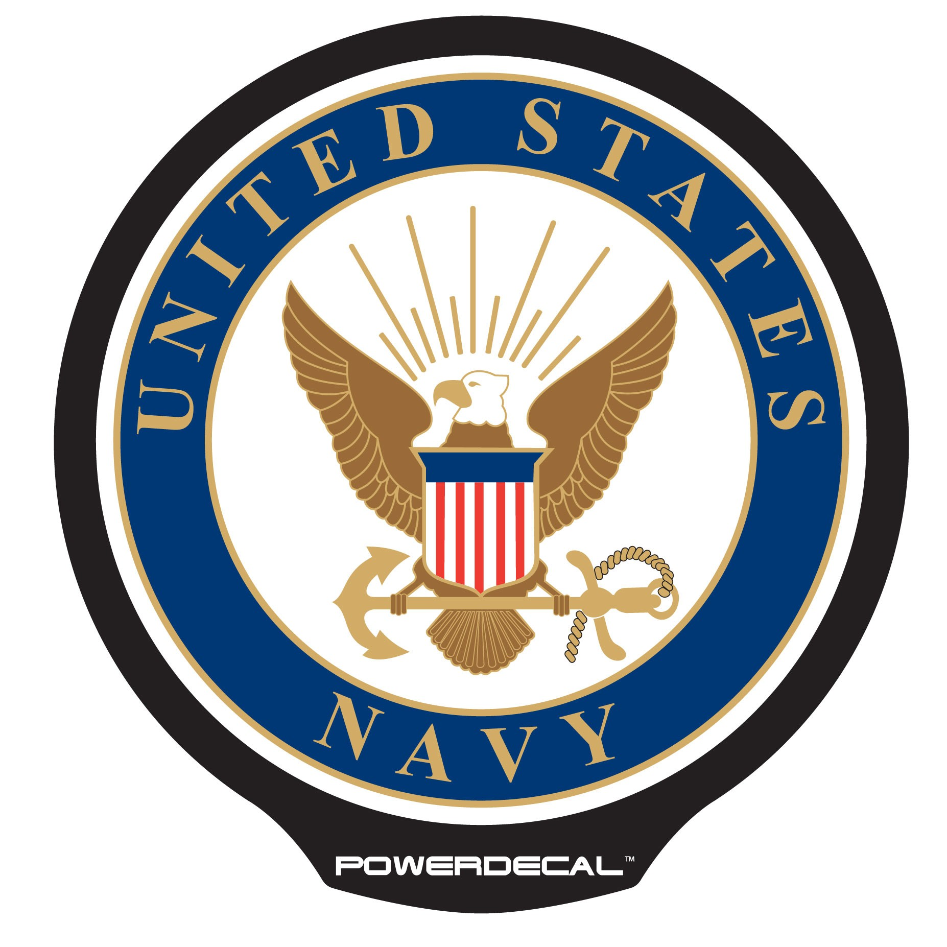 Official us navy emblem