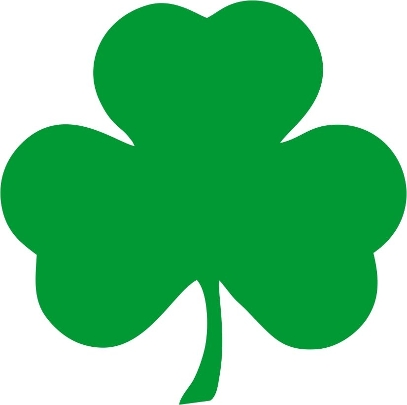 3 Leaf Clover Clipart - ClipArt Best