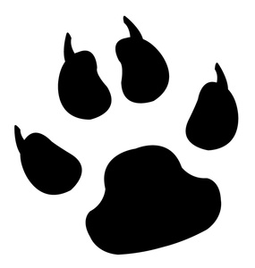 Craft Sites for Kids Panther Paw Clip Art