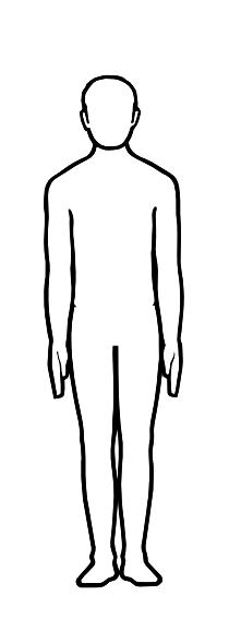 Pattern person Free Coloring pages online print.