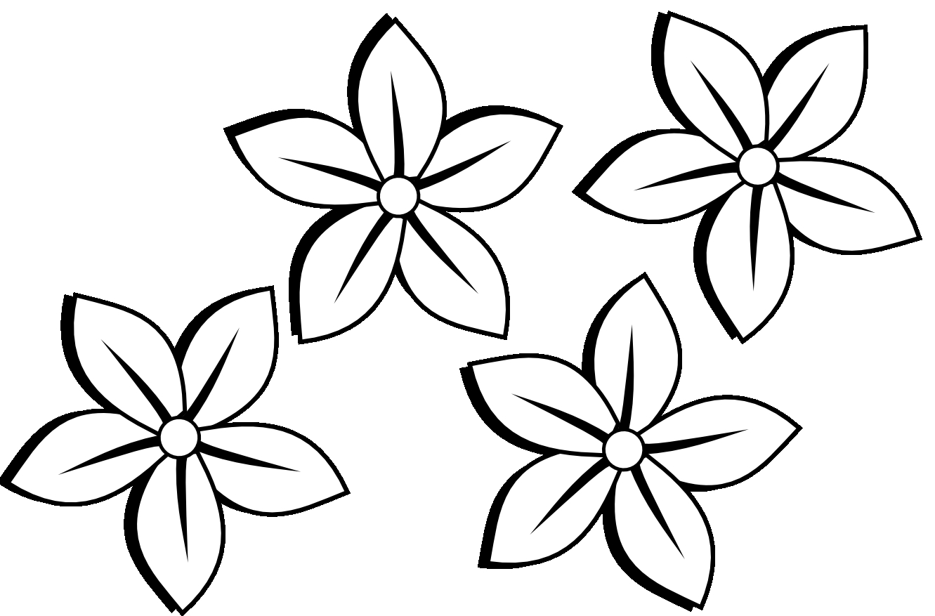Drawings Flowers ClipArt Best
