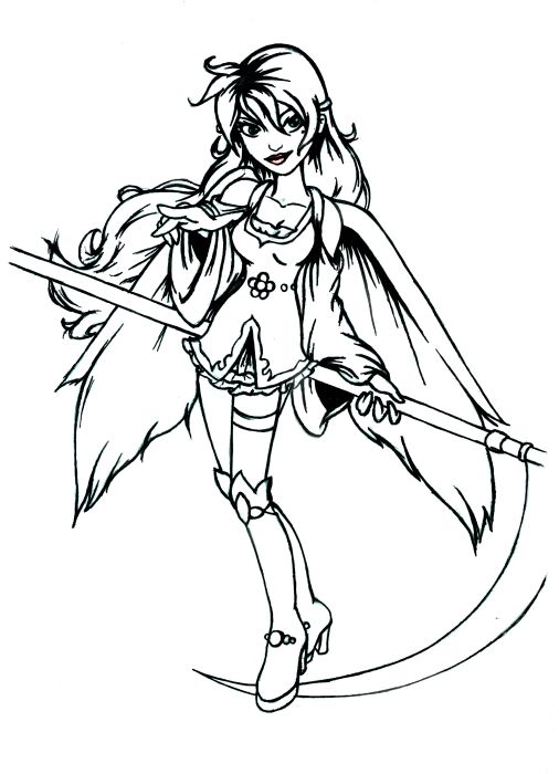 Angel Black And White Clipart - All About Clipart