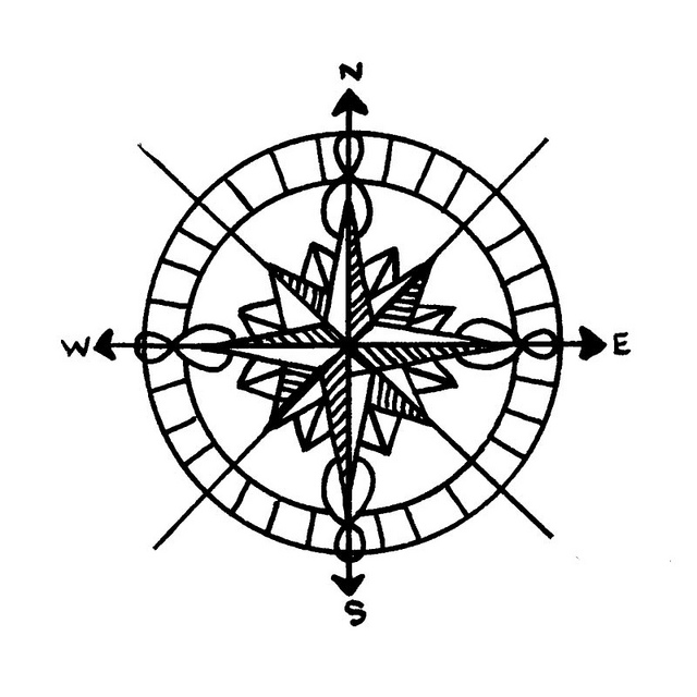 Compass Rose Art