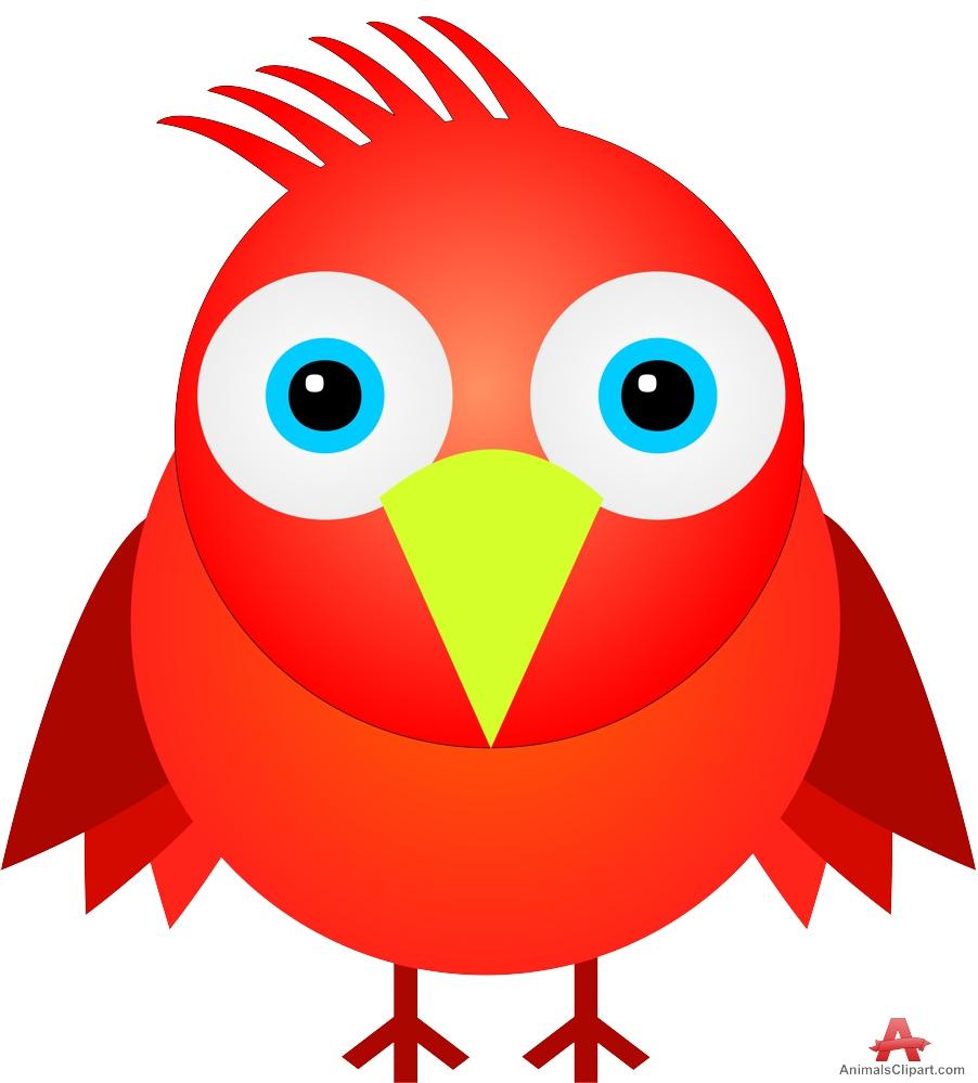 red bird   clipart best