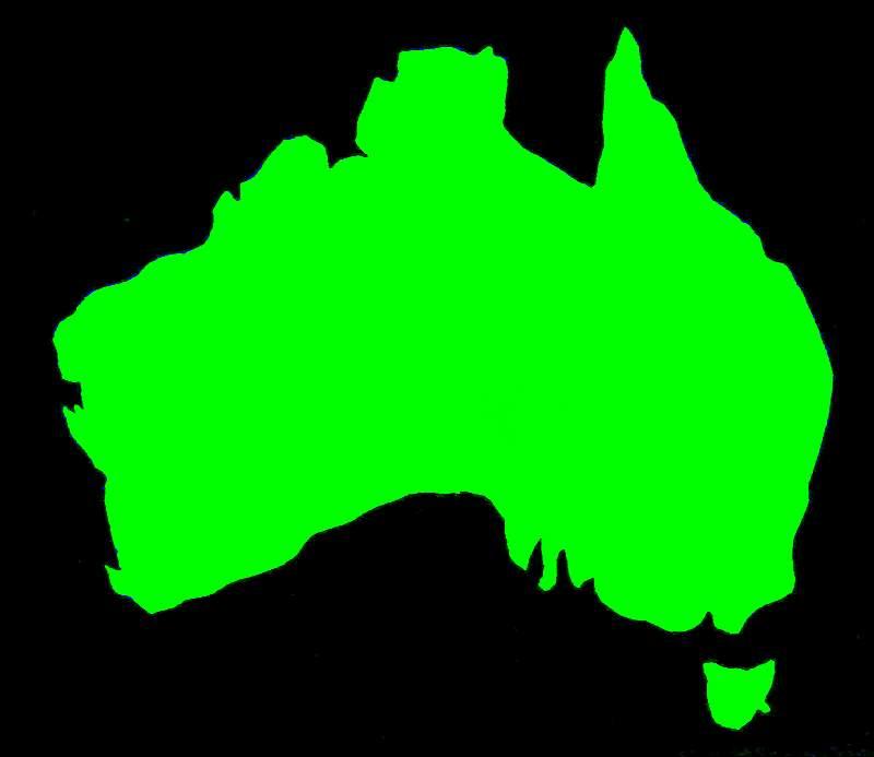 Blank Australia ClipArt Best – Australia Map Blank