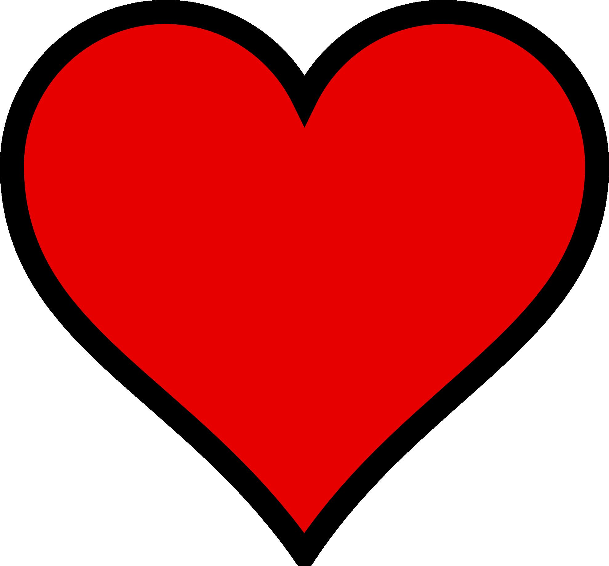 Valentine Heart Cartoon - ClipArt Best