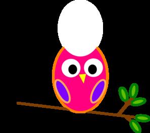 Orange owl clip art vector clip art online royalty free