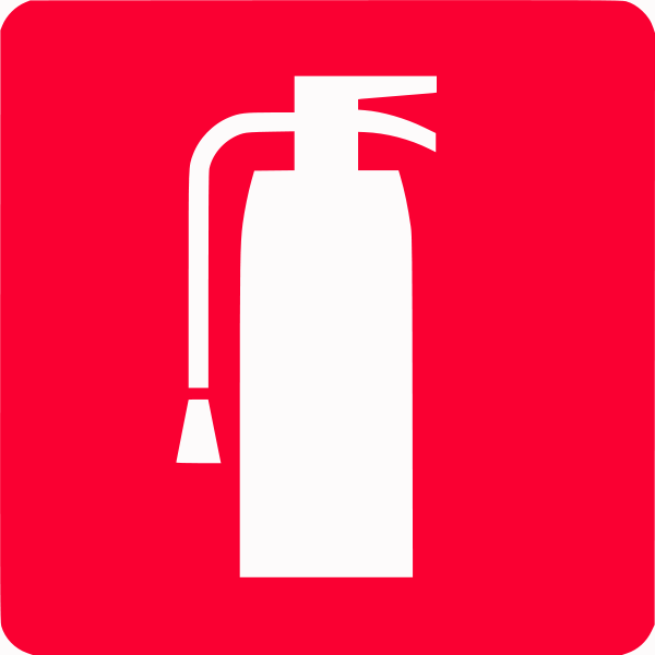 Fire extinguisher symbol fire extinguisher cad symbol for M floor meaning