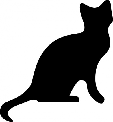 Download Cat Silhouette clip art Vector Free