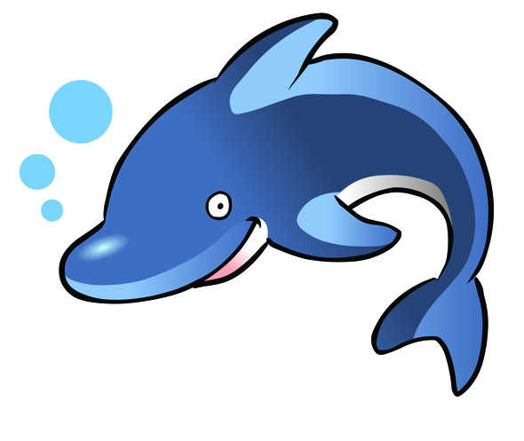 Free Dolphin Clipart - ClipArt Best