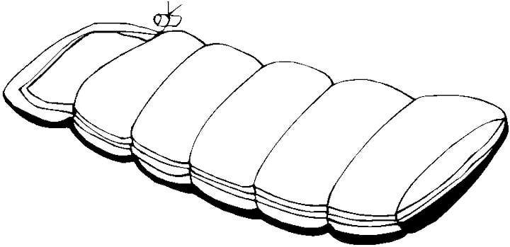 Pics Of Sleeping Bags Clipart Best Sleeping Bag Coloring Page