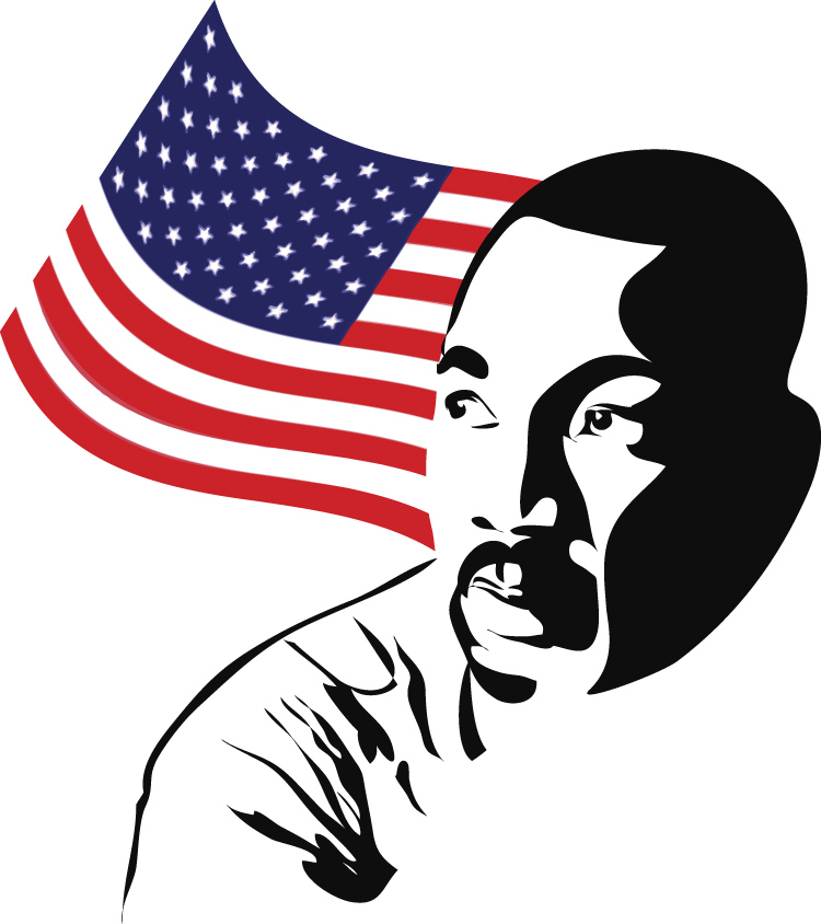 clip art martin luther king jr day - photo #40