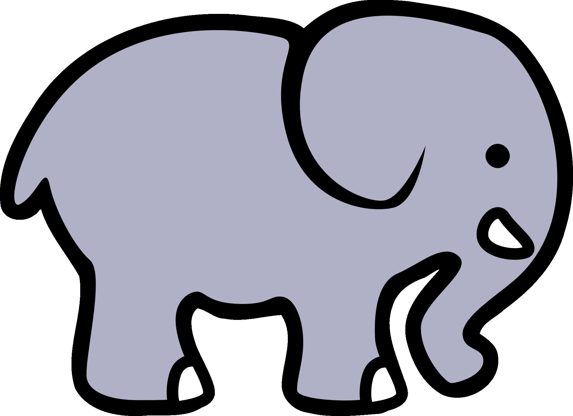 elephant line lemmling black white line art hunky dory SVG ...