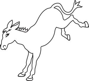 Donkey Clipart Image - Cartoon Donkey - ClipArt Best ...