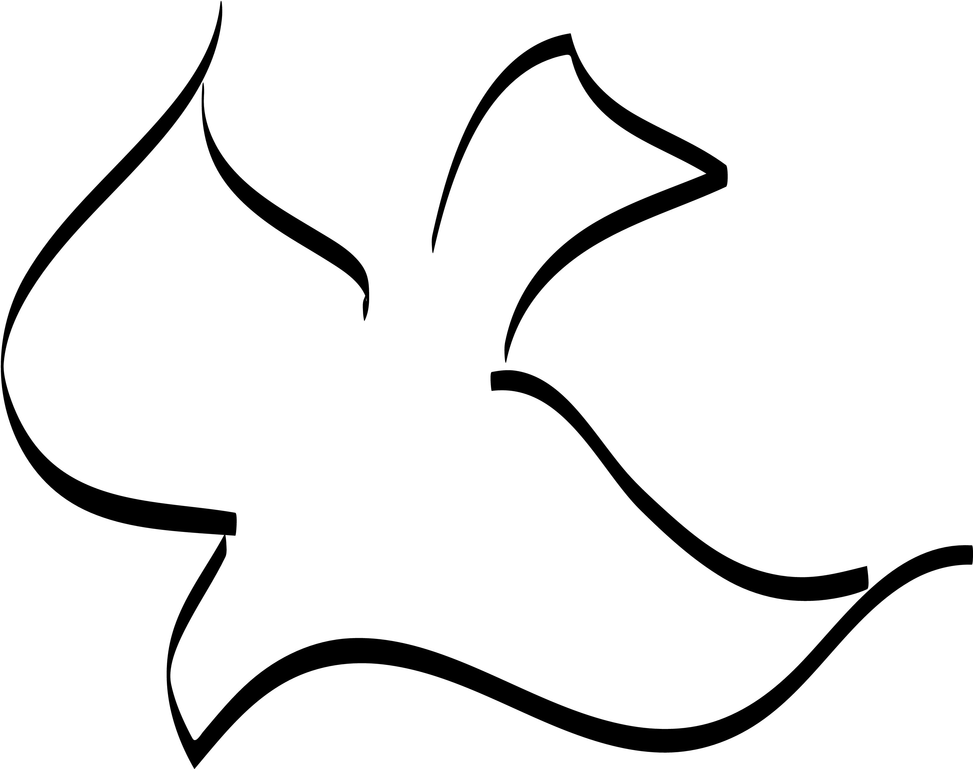 Holy spirit dove clipart black and white - photo#4