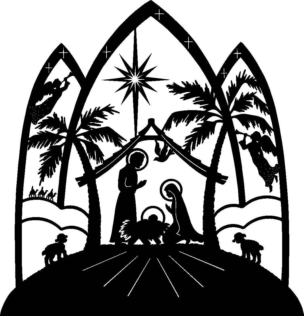 Line Art Nativity : Christmas clip art nativity clipart best