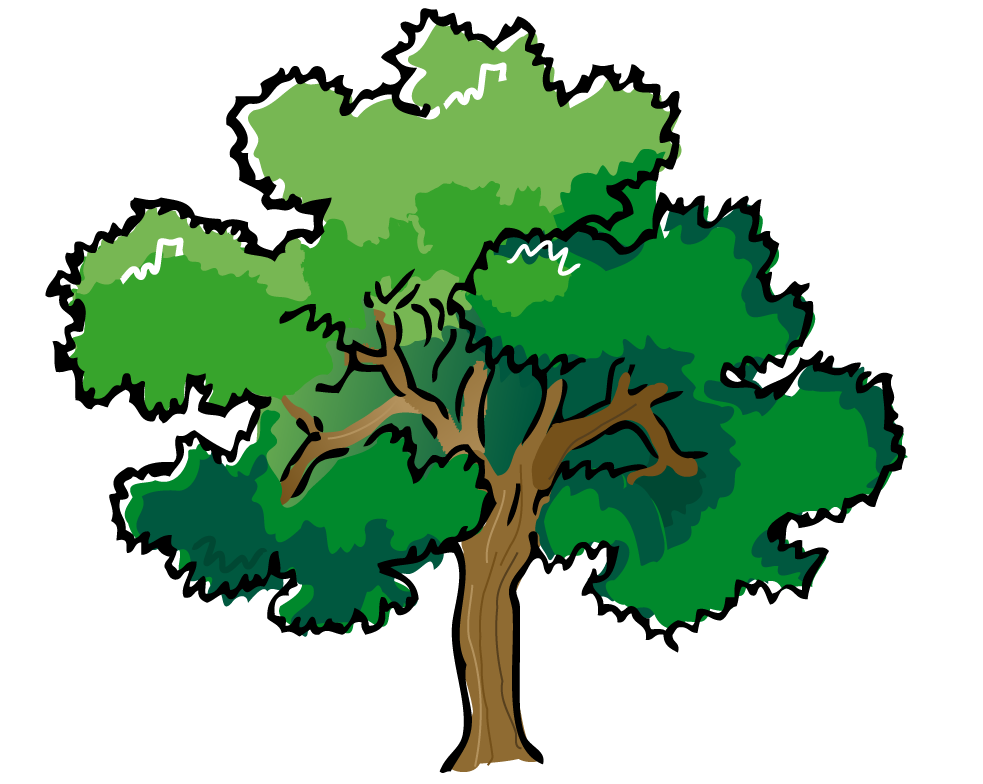 Clipart Tree Day clip art - maple tree