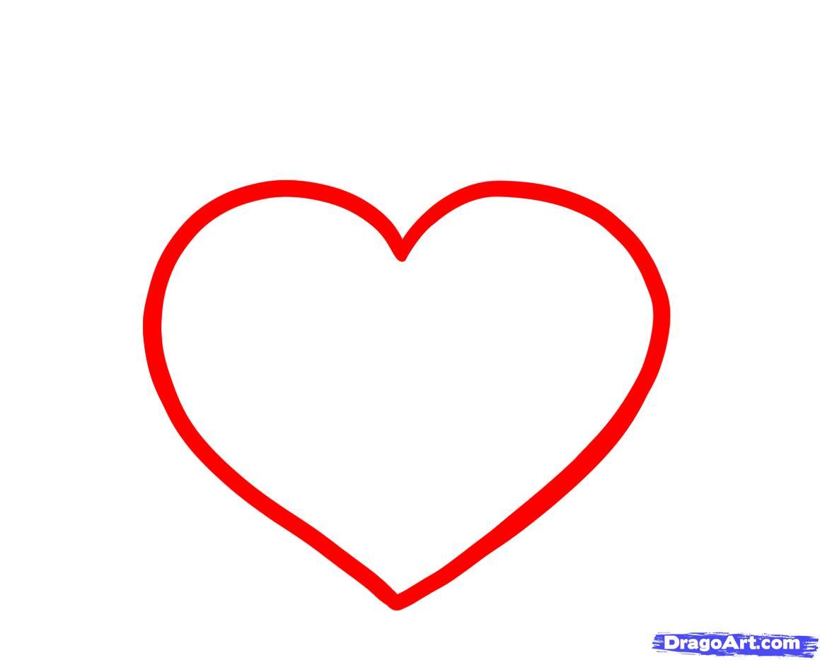 Heart Draw - ClipArt Best
