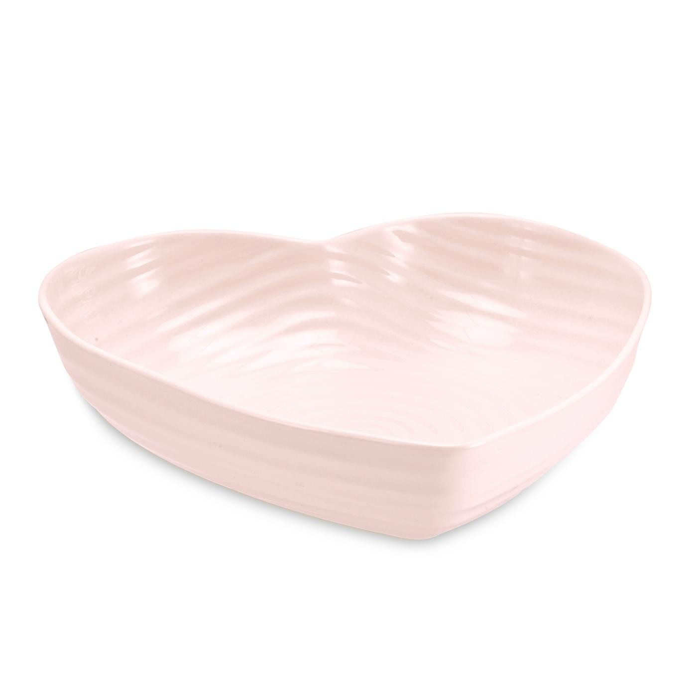 Sophie Conran for Portmeirion Pink Small Heart Bowl - Portmeirion UK