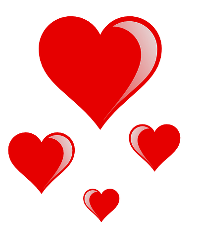 Small Red Hearts - ClipArt Best