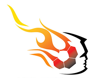 Ball On Fire Logo - ClipArt Best