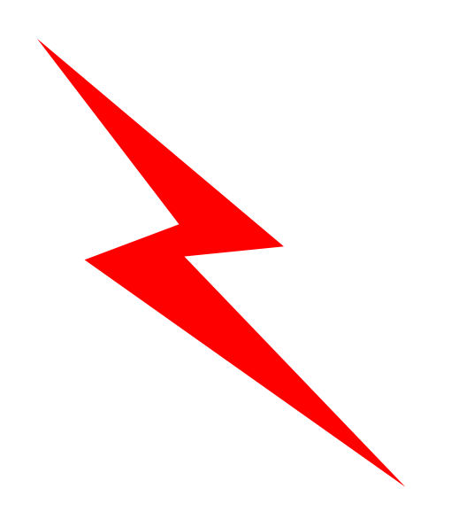 Electricity Bolt Clipart Lightning Bolt Png Clipart