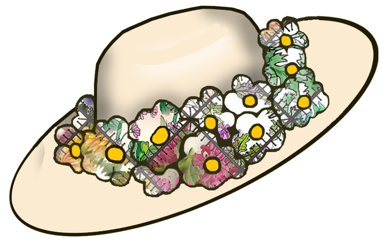 clipart easter bonnets - photo #42