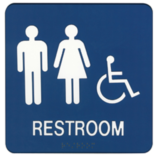 Restroom Clipart: Free Restroom Signs
