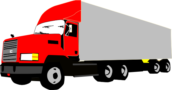 Back > Gallery For > 18 Wheeler Clip Art