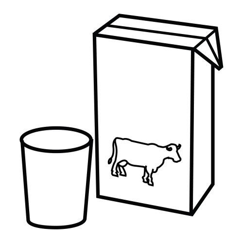Dibujos de lacteos para imprimir - Imagui