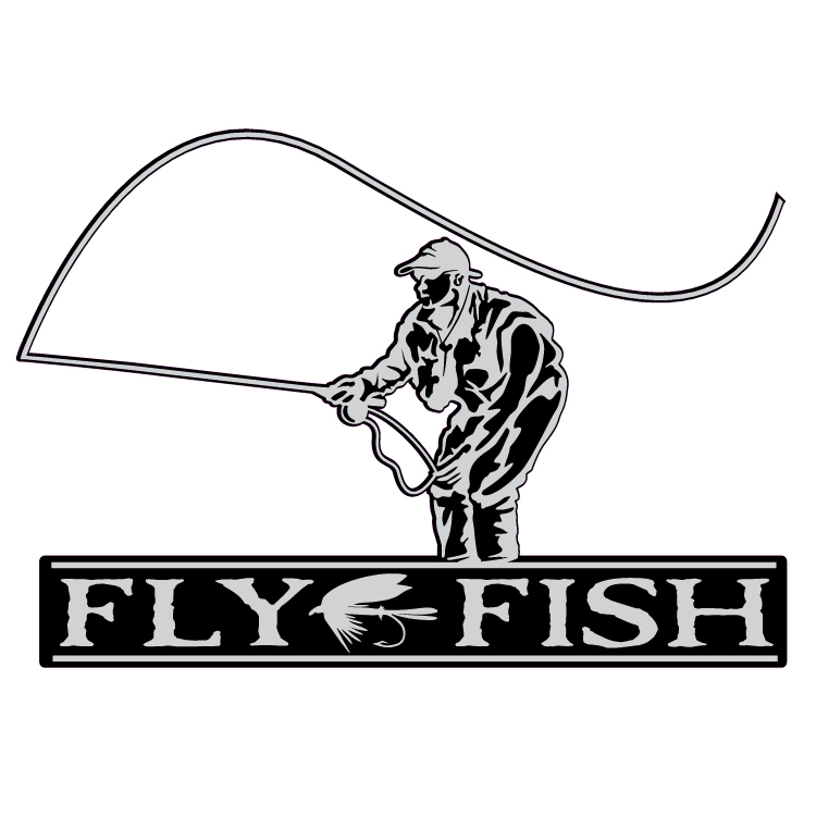 Fly Fish Decal