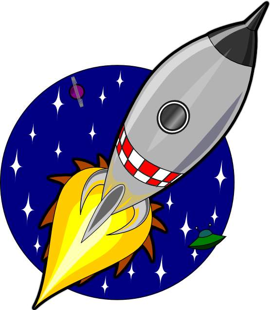 Books Cartoon Png Cartoon Rocket Coloring Book