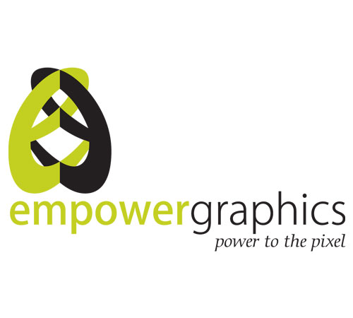 empower graphics branding graphic design logo design
