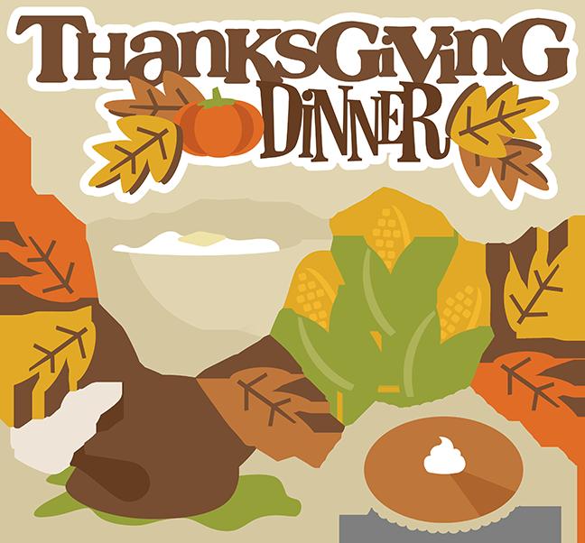 Thanksgiving Dinner SVG turkey svg thanksgiving svgs svg ...