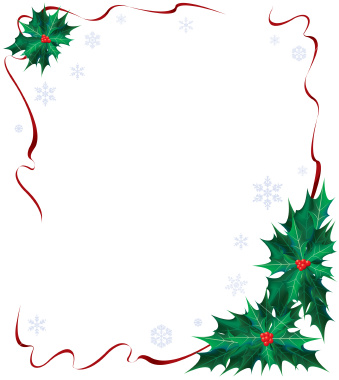 Free christmas page border templates clipart best for Free christmas border templates