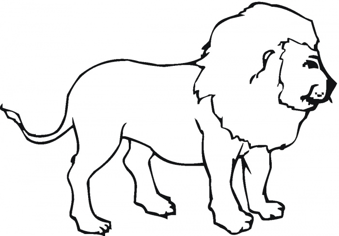 Lion Outlines - ClipArt Best