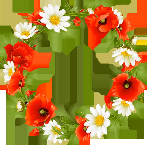 clipart flower wreath - photo #7