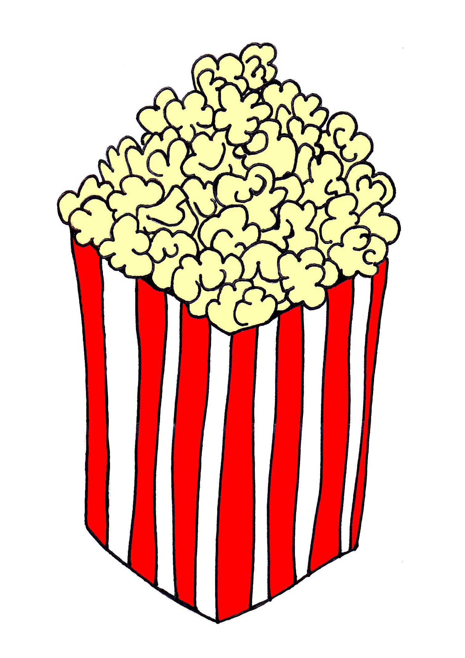 Popcorn Kernel Icon Popcorn icon
